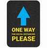 Social Distancing Anti-Slip Floor Signs-Image