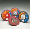 New! Norton Red Heat Trimmable Flap Discs-Image