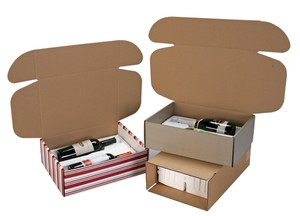 Side Load Wine Bottle Shippers and Gift Boxes-Image