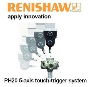 Renishaw: co-ordinate measuring machine, PH20-Image