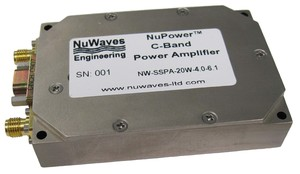 New Miniature C-Band Power Ampifier-Image
