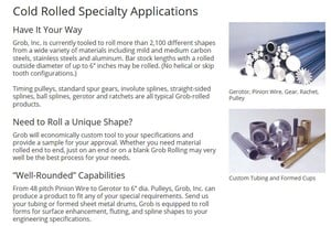 Shapes to your engineering specifications.-Image