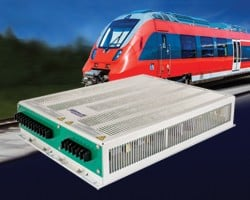 Railway 3-phase DC-AC sine wave inverters -Image