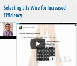 Selecting Litz Wire for Increased Efficiency-Image