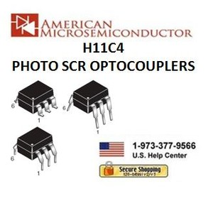 H11C1- H11C6 PHOTO SCR OPTOCOUPLERS -Image