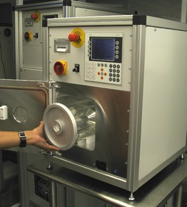 GAS PLASMA SYSTEM FOR TREATMENT OF POWDERS -Image
