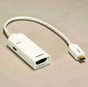 MHL Adapter for Galaxy S3 Micro USB to HDMI F-Image