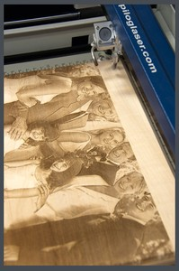 Wood Engraving with Epilog CO2 Lasers-Image