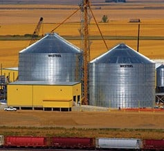 Commercial Storage Flat Bottom Grain Bins-Image