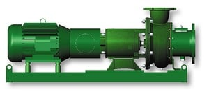 Vaughan E-Series Horizontal Dry Well Chopper Pump-Image