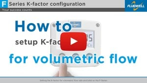 Setting the K-factor on the F-Series-Image