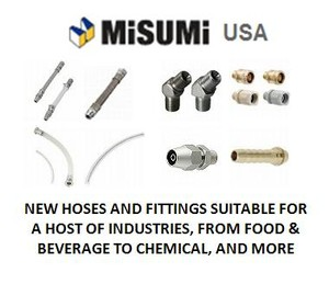 NEW HOSES AND FITTINGS FROM MISUMI -Image