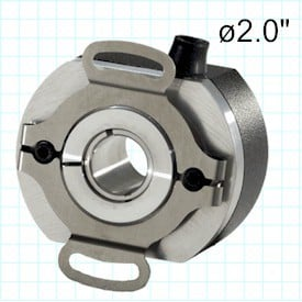 Thru-Bore Encoder w/ Commutation - Model 260-Image