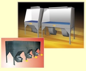 Downdraft Tables: Protection from Dust and Fumes-Image