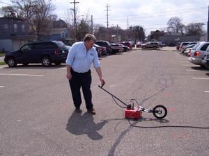 Ground Penetrating Radar (GPR)-Image
