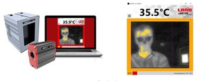Fever screening thermal imaging system -Image