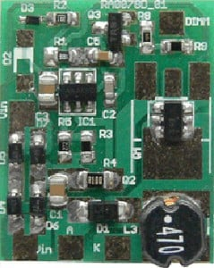 ON Semiconductor PWM Dimmable LED Demo Board-Image