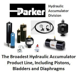 Parker's Industry Leading Hydraulic Accumulators -Image