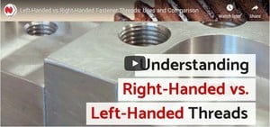 Left-Handed vs Right-Handed Fastener Threads-Image