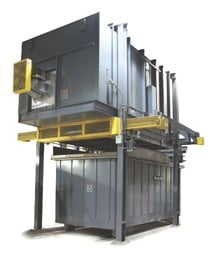 Despatch Drop Bottom Solution Heat Treat Furnace-Image