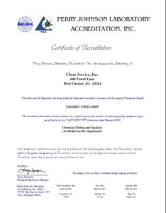 ISO/IEC 17025:2005 Accreditation-Image