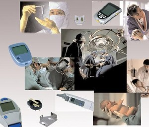 Batteries and holders in medical applications-Image
