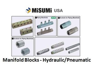 Manifold Blocks - Hydraulic/Pneumatic from Misumi-Image