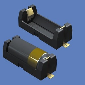 Rugged/Low Profile SMT Battery Holders-Image