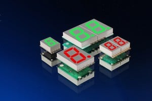 New High-Temp Surface Mount 7-Segment LED Displays-Image