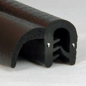 Bulb Trim Seal, no metal clips or adhesives needed-Image