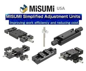 MISUMi New Simplified Adjustment Units-Image