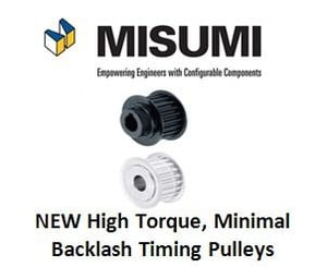 Minimal Backlash Timing Pulleys: High Torque-Image