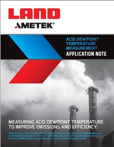 ACID DEWPOINT TEMPERATURE MEASUREMENT-Image