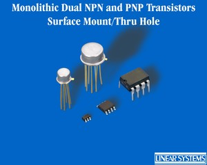 NPN and PNP Monolithic Dual Transistors-Image