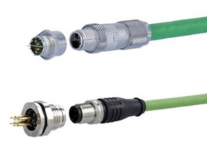 Robust Industrial Ethernet Circular Connectors-Image