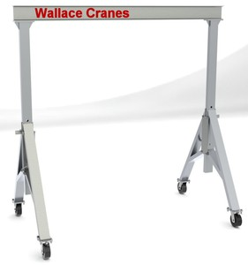 Aluminum Cranes...Fixed & Adjustable Height-Image