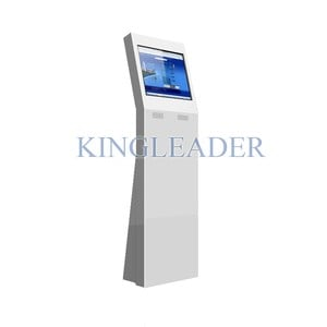 Stylish self-service touchscreen kiosk-Image