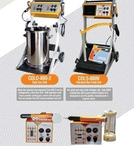 high voltage electrostatic powder coating machine-Image