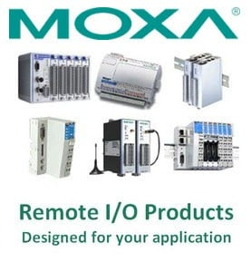 Moxa's extensive line of Remote I/O Products-Image