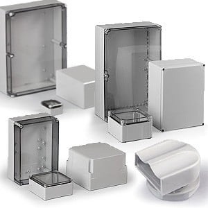 Polycarbonate Enclosures & Enclosure Accessories-Image