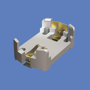 Low Profile Surface Mount Holder for 24mm CoinCell-Image