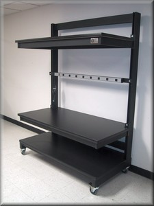 Large Shelf Workstation - Model LM-110P-Image
