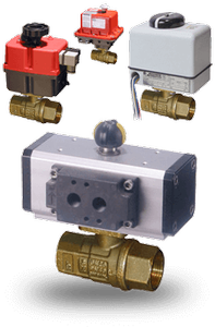 Lead Free Brass Ball Valves-Image