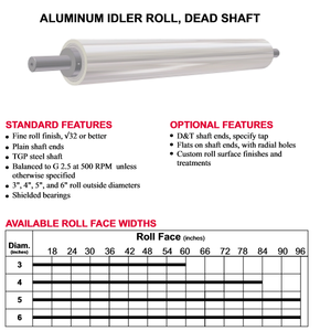 Precision-machined idler and tension rollers-Image