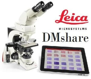 Microscope Images Go Mobile with Leica DMShare App-Image