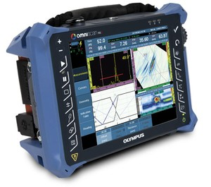 Phased Array Flaw Detector With Touch Screen-Image