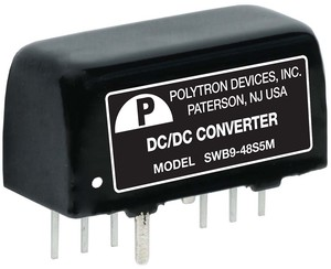 Miniature SIP Converters Available up to 9 Watts-Image