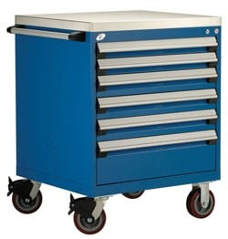 Heavy-Duty Mobile Cabinet - R5BDG-3007-Image