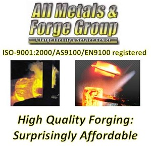 Open Die, Seamless & Contoured Rolled Ring Forging-Image