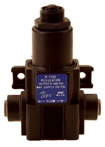 Pressure Regulators Offer Push-In Connections-Image